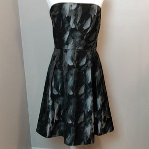 WHBM strapless dress sz 14